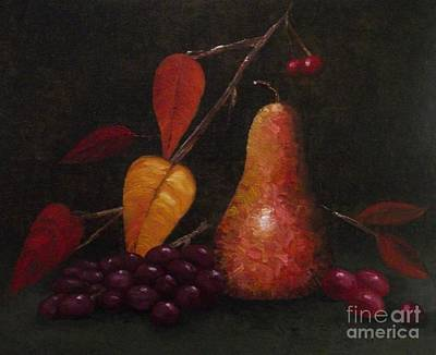 Painting - Autumn Pear by Michelle Welles