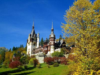 Autumn - Peles Castle Original by Sorin Ghencea