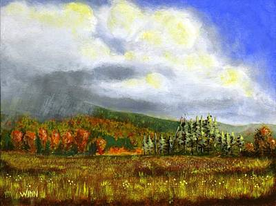Painting - Autumn Rain by Brett Winn
