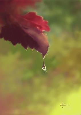 Autumn Rain Art Print by Kume Bryant