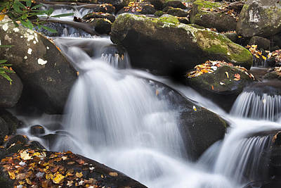 Autumn Rapids Print by Andrew Soundarajan