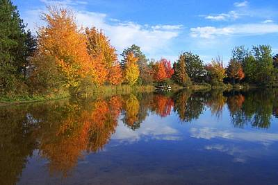 Photograph - Autumn Reflections by Brian Chase