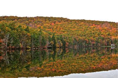 Photograph - Autumn Reflections II by Healing Woman