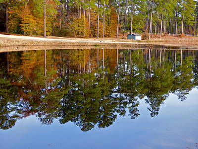 Photograph - Autumn Reflections by Jean Wright