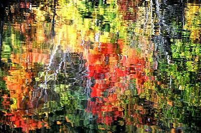 Photograph - Autumn Reflections by Phyllis Meinke