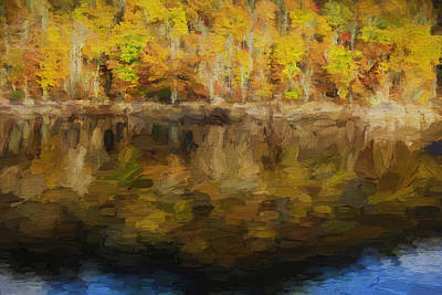 Photograph - Autumn Reflections by Tom Culver