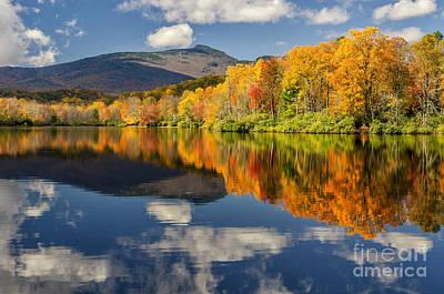 Lake Blue Ridge Photograph - Autumn Reflects by Anthony Heflin