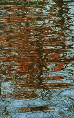 Photograph - Autumn Ripples 4 by Todd Sherlock