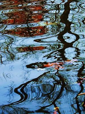Photograph - Autumn Ripples by Todd Sherlock