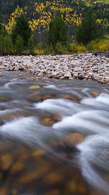 Photograph - Autumn River by Dustin  LeFevre