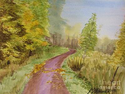 Autumn Riverside Walk Version2 Original