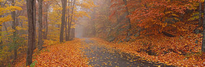 Autumn Road, Monadnock Mountain, New Art Print by Panoramic Images