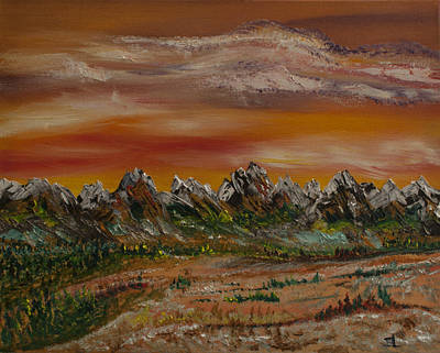 Painting - Autumn Rockies by James Bryron Love