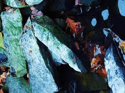 Photograph - Autumn Rocks by Todd Sherlock