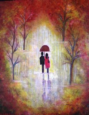 Superhero Ice Pop Rights Managed Images - Autumn Romance Royalty-Free Image by Manjiri Kanvinde