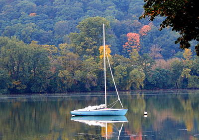 Photograph - Autumn Sails by Wild Thing