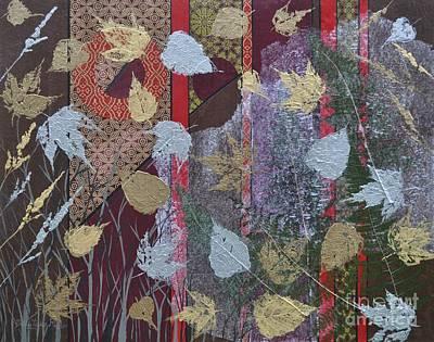 Decoupage Mixed Media - Autumn by Sally Rice