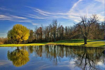 Photograph - Autumn Serenity by Allen Beatty