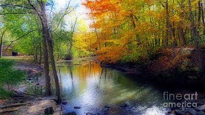 Photograph - Autumn Serenity  by Kay Novy