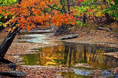 Autumn Serenity Art Print by Frozen in Time Fine Art Photography