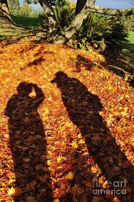 Photograph - Autumn Shadows by Tikvah's Hope