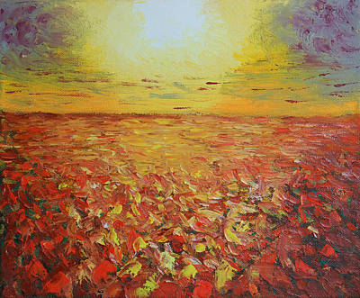 Painting - Autumn Shine by Peter Kallai