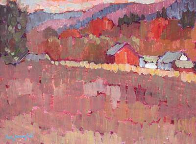 Painting - Autumn Shorthand by Len Stomski