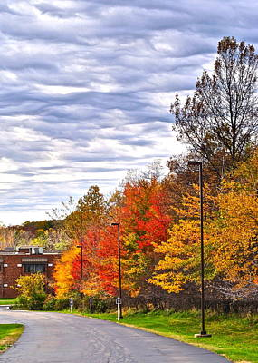 Autumn Sky Print by Frozen in Time Fine Art Photography