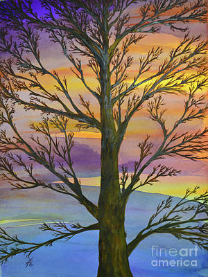 Painting - Autumn Sky by Suzette Kallen