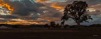 Photograph - Autumn Sky by Tim Bryan