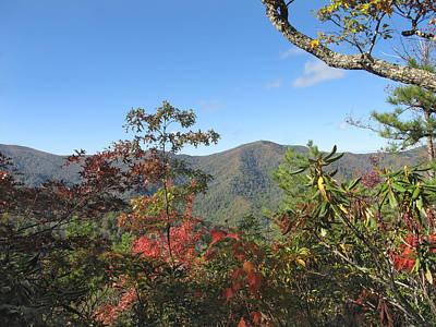 Photograph - Autumn Smoky Mountains by Melinda Fawver