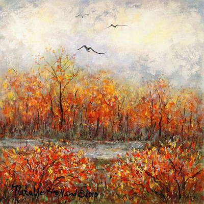 Painting - Autumn Song by Natalie Holland