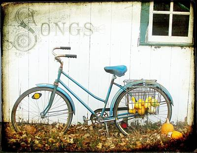 Barn Photograph - Autumn Songs by Cassie Peters
