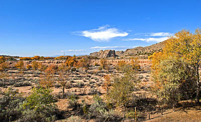 Autumn Southwest Desert Art Print