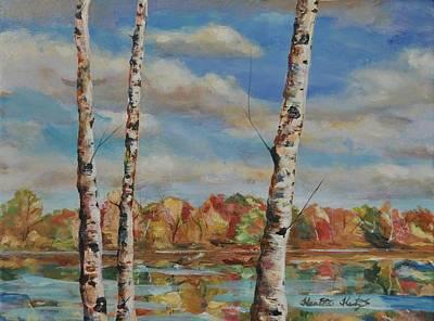 Painting - Autumn Splendor by Heather Kertzer
