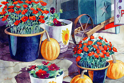 Autumn Still Life Art Print by Mick Williams