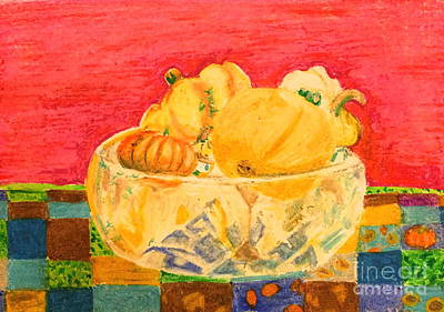Pastel - Autumn Still Life by Terri Thompson