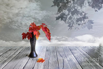 Multicolor Digital Art - Autumn Still Life by Veikko Suikkanen