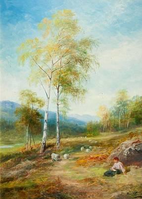 Scotland Painting - Autumn, Strathglass, Inverness-shire by John MacWhirter