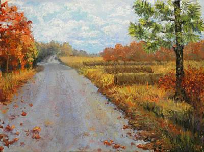 Pastel - Autumn Stroll by Lorraine McFarland