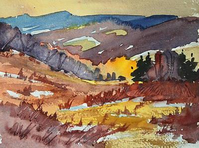Painting - Autumn Study by Len Stomski