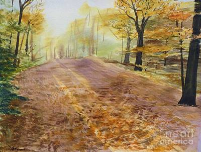 Most Popular Painting - Autumn Sunday Morning by Martin Howard