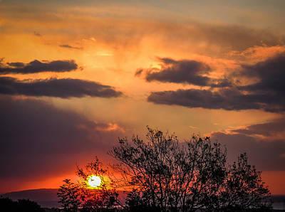 Photograph - Autumn Sunrise by James Truett