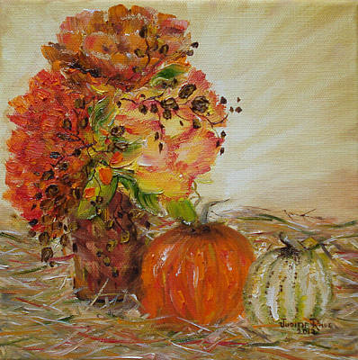 Painting - Autumn Sunrise by Judith Rhue