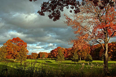 Photograph - Autumn Sunshine After The Storm by Gene Walls