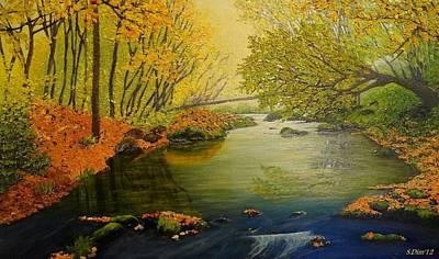 Autumn Art Print by Svetla Dimitrova