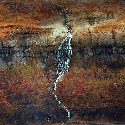 Water Fall Photograph - Autumn by Swapnil.