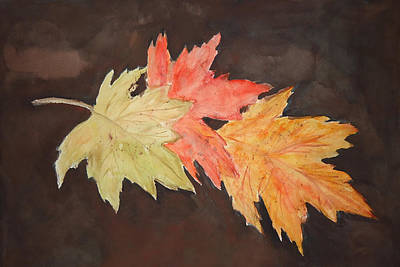 Painting - Autumn Three by Charme Curtin