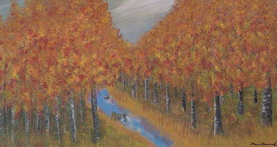 Autumn Art Print by Tim Townsend
