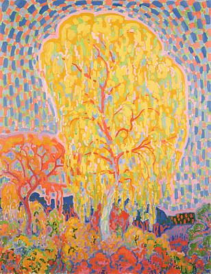 Leo Painting - Autumn Tree by Leo Gestel
